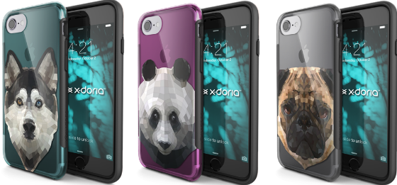 X Dorias new protective range of cases for the iPhone 7