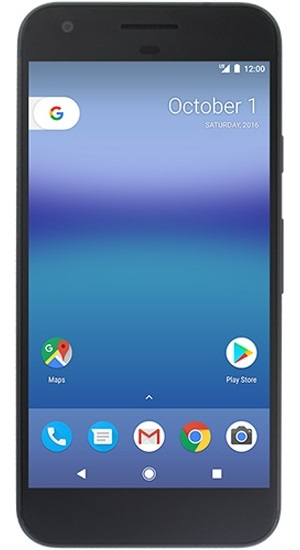 Google Pixel   Official image appears