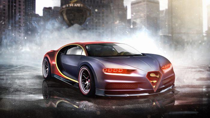 superman bugatti chiro 1920x1080