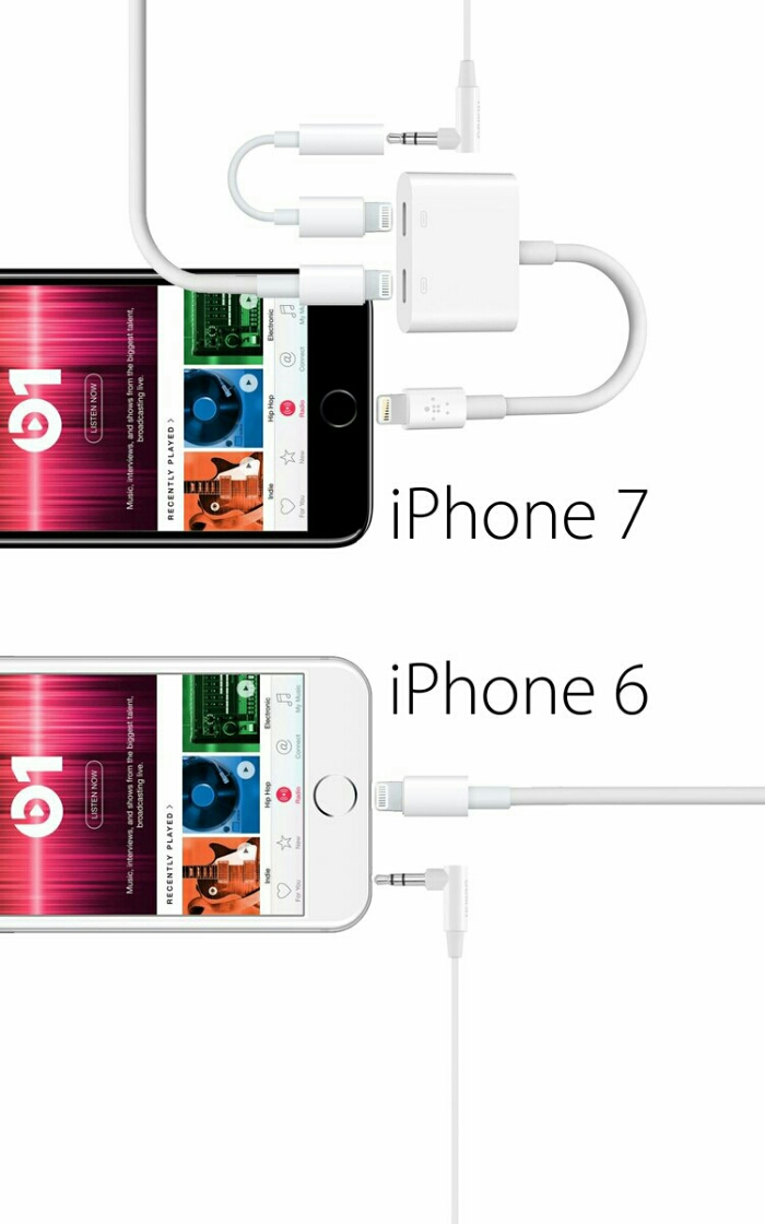 So, you want to listen to music AND charge your iPhone 7?