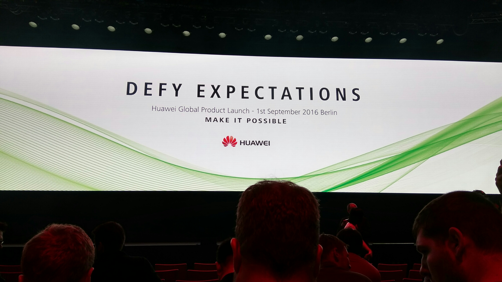 IFA Berlin 2016   Huawei Press Conference #DefyExpectations