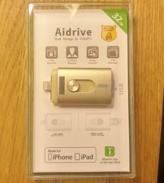 Aidrive 32GB i Flash Drive   Review