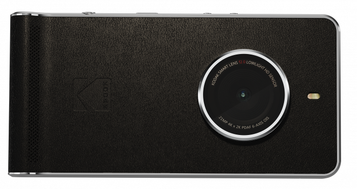 Ektra, Ektra, read all about it. New Kodak phone available on Monday