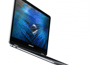 Samsung Chromebook Pro in profile