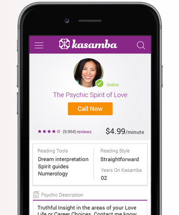 Kasamba Psychic Readings   Review