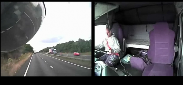 Use the phone whilst driving. This could happen to you.
