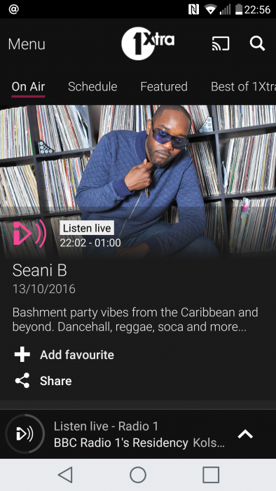 RATED   The BBC iPlayer Radio app