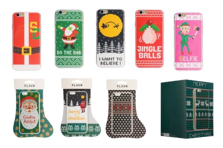 Get your phone in the Christmas spirit!