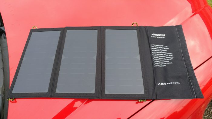 Archeer Solar Charger   Review