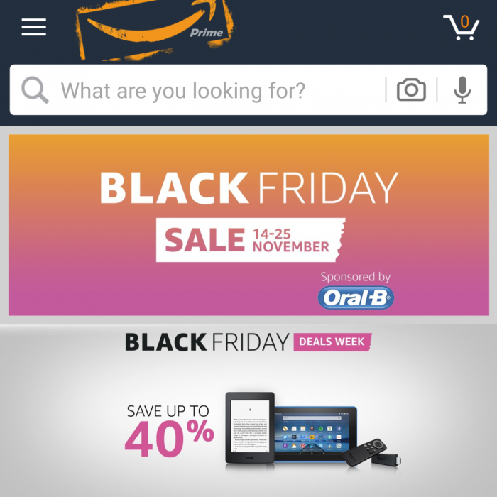 Amazon Echo deals on Black Friday... Friday... day...
