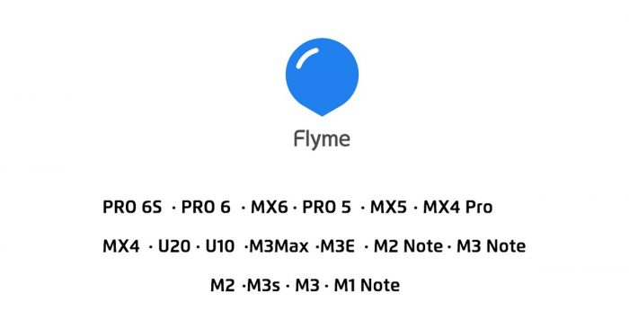 Flyme 6 Devices