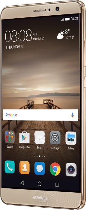mate 9 champagne gold front left