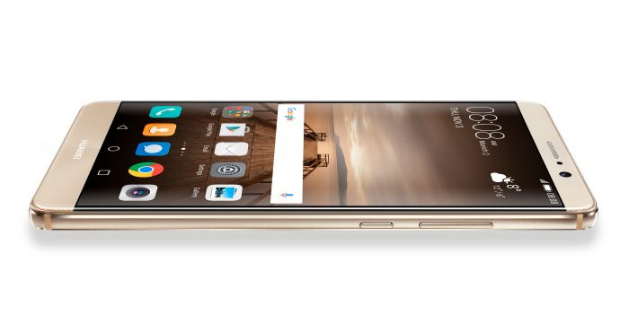 mate 9 champagne gold front side