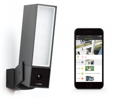 Netatmo Presence   A new outdoor security camera with a light