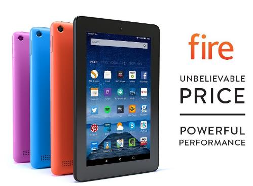 Amazon Fire 7 Now £29.99 at Amazon