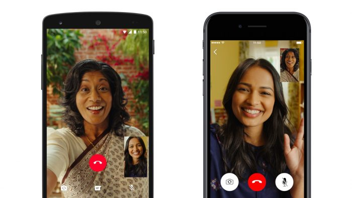 Get your make up on! WhatsApp adds video calling