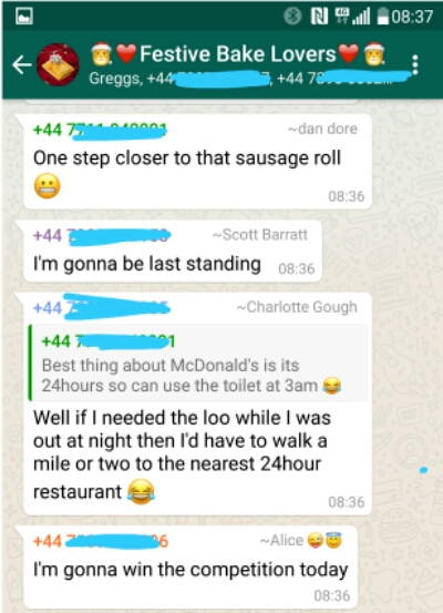 When a WhatsApp group goes wrong