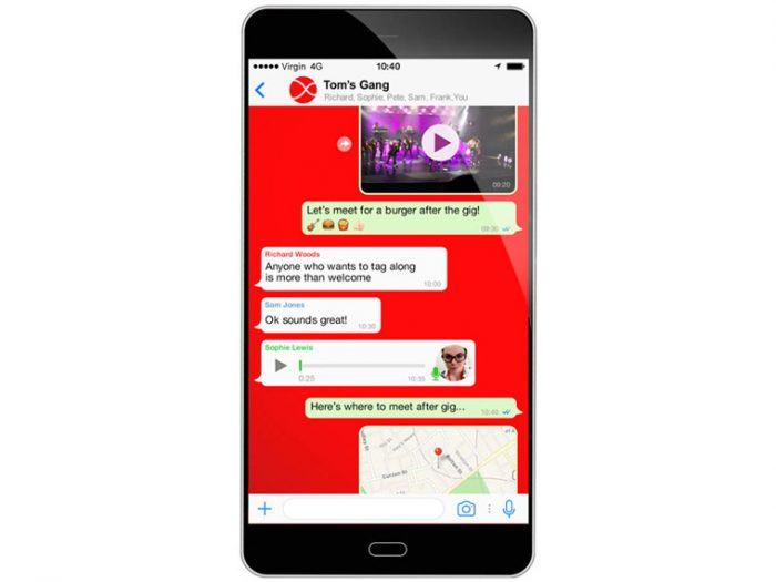 Virgin Media goes 4G. Adds free WhatsApp and rollover data