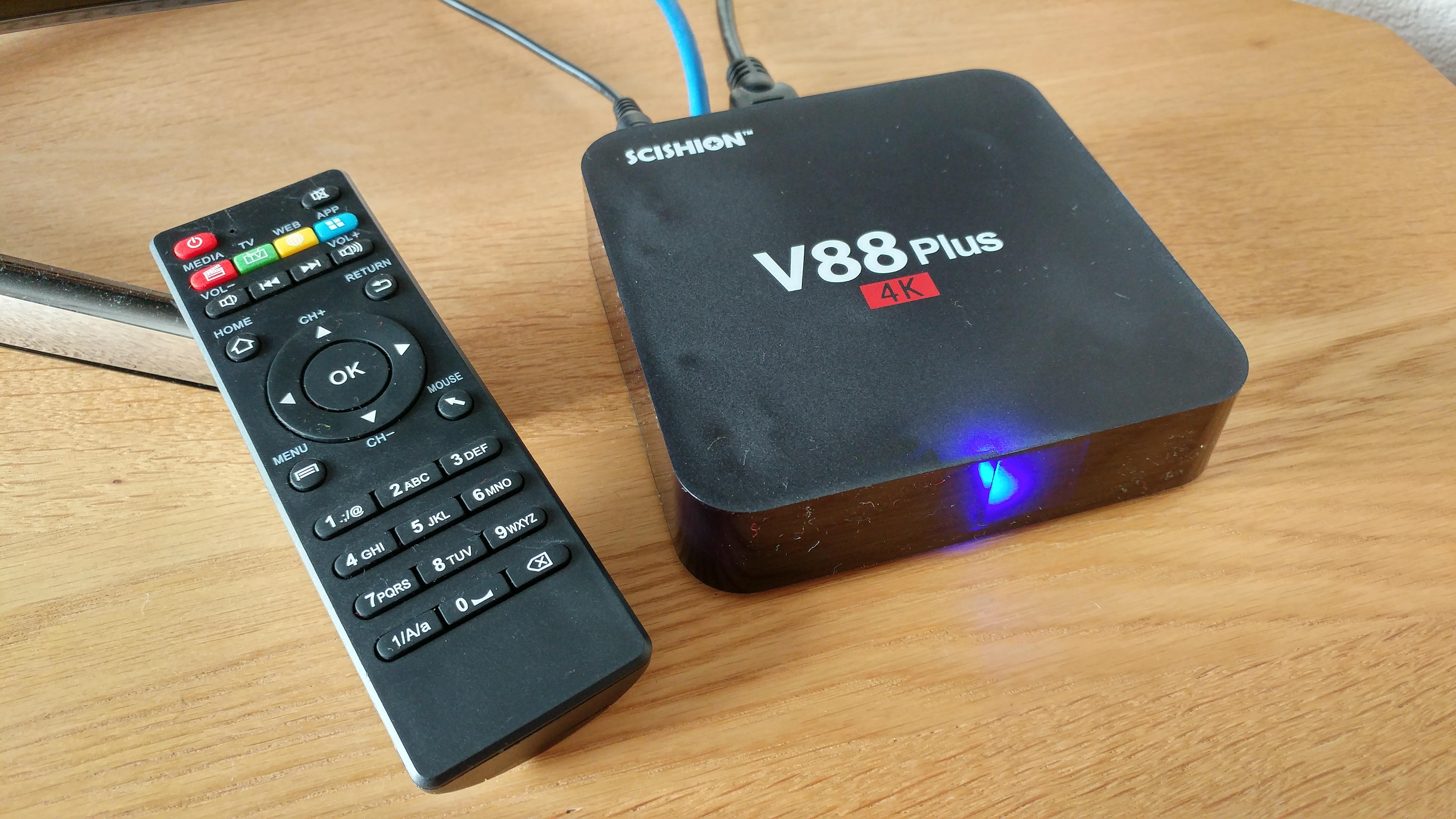 V88 Plus TV Box - Review - Coolsmartphone