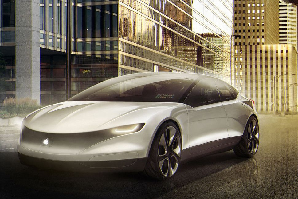 Apple reveals intentions to build self driving car