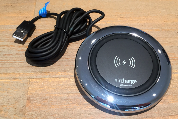 Wireless power for your smartphone by Aircharge   Review