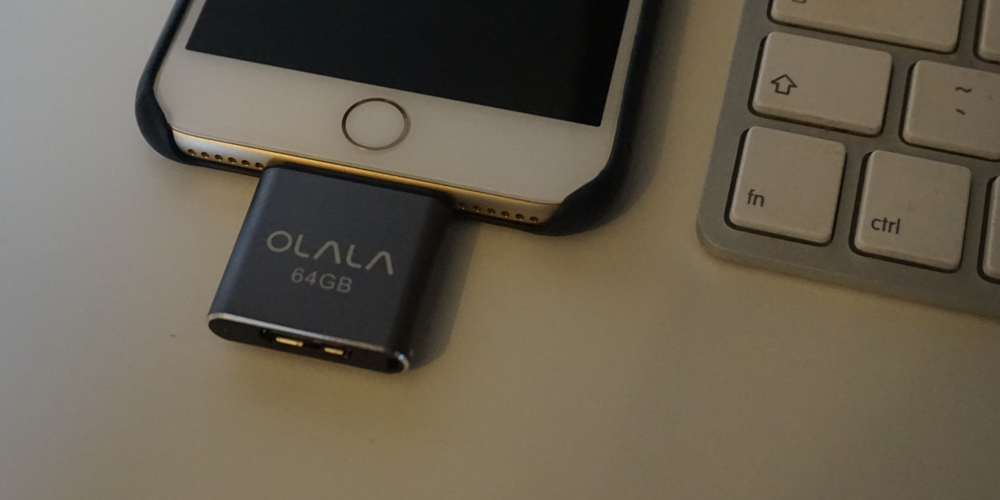 Solve iOS storage anxiety with an OLALA iDisk
