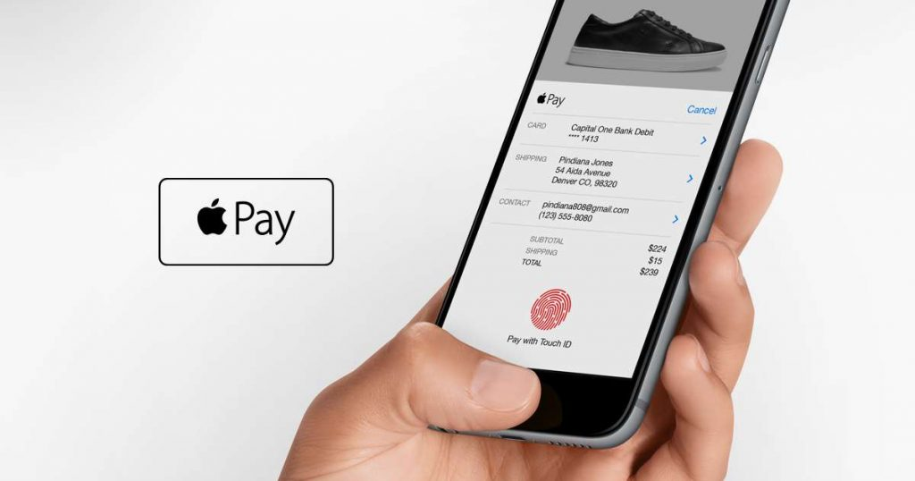 Replace 'everything in your wallet' with an iPhone and Apple Pay