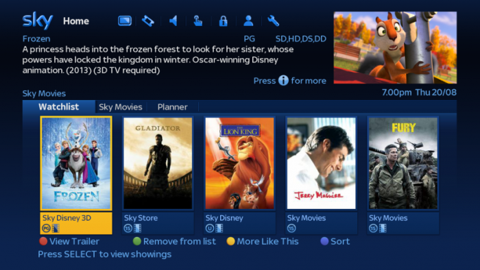 Enjoy new movies from the warmth of your home, provided youve got the speed