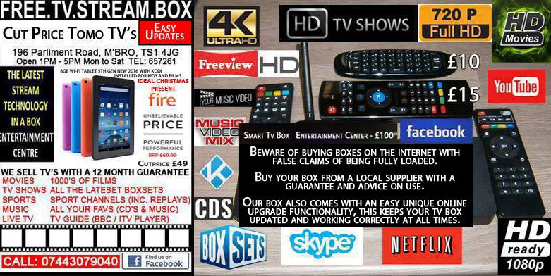 Selling a fully loaded Kodi box   Its a grey area