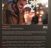 Kitsound Immerse Wireless Noise Cancelling Headphones   A Review