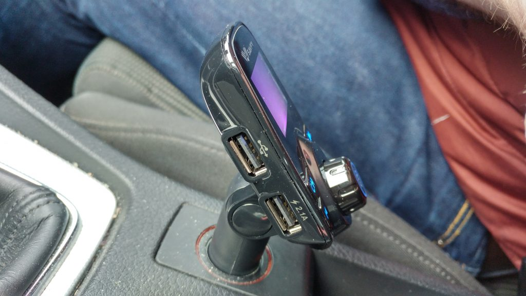 SAVFY Wireless Bluetooth FM Transmitter   Review