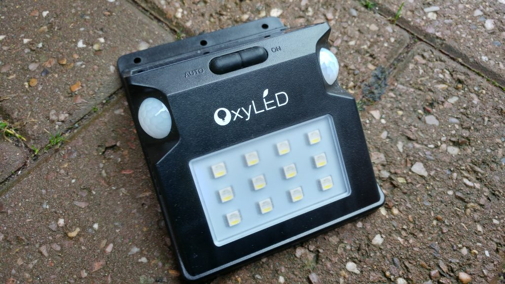 OxyLED SL07 Solar Sensor Light   Review