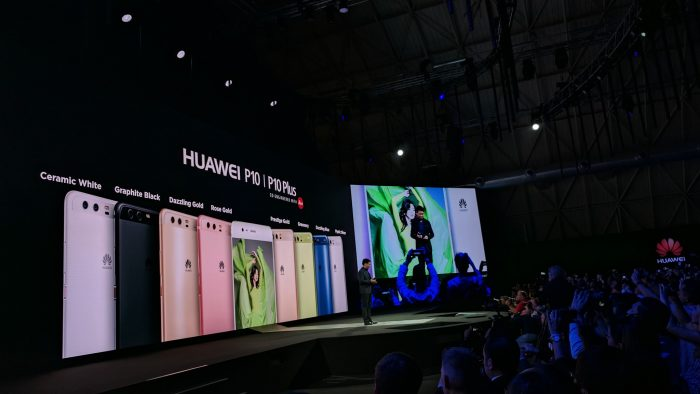 MWC   Huawei P10 and P10 Plus announced. EE to carry