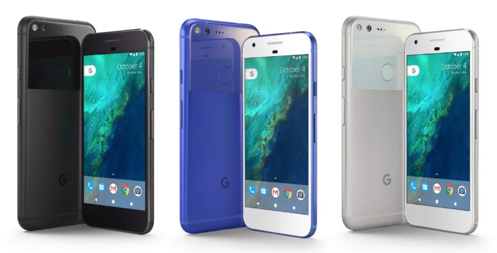 Blue Google Pixel coming to UK via EE