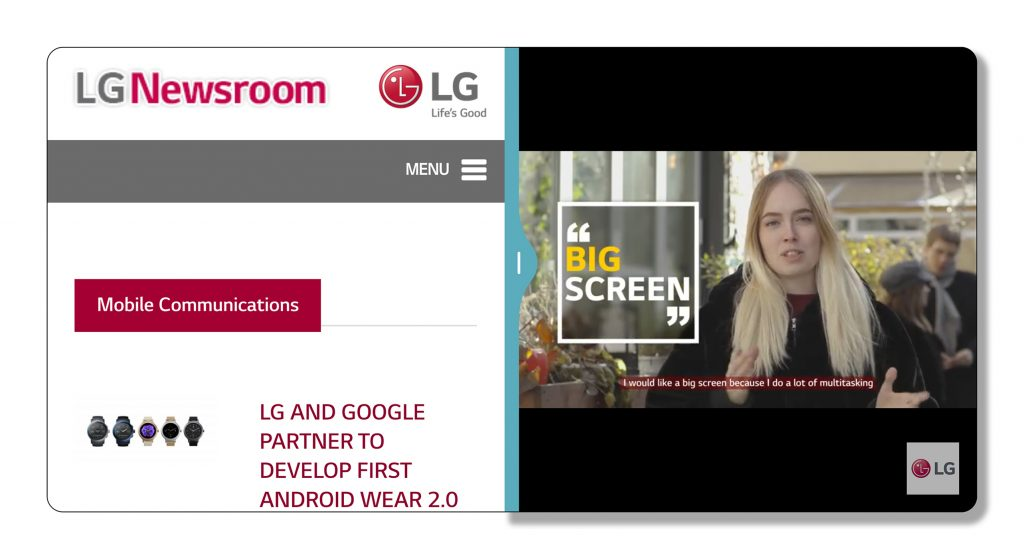 LG at MWC 2017   Like a G6, Like a G6