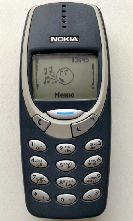 The Nokia 3310. Will we see Snake heading to Spain?