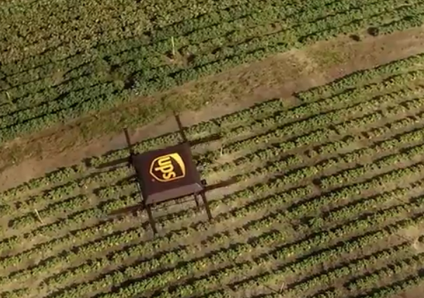 UPS Test Drone Deliveries
