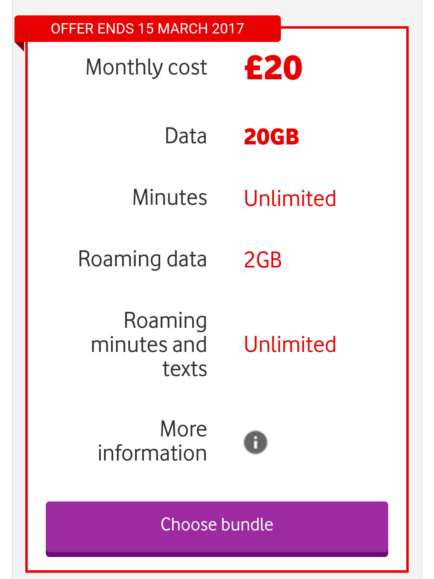 Vodafone sim only deals 3g - Birth boot camp coupon code 2018