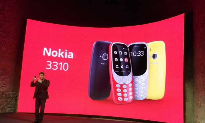 MWC   Yes, yes. Actually yes. The Nokia 3310 is back.