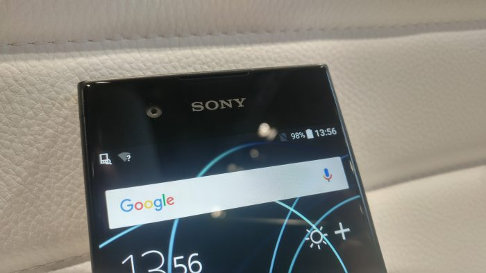 MWC   The Sony Xperia XA1 and XA1 Ultra. Up close.