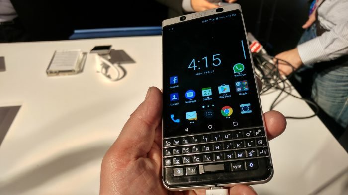 MWC   THAT new BlackBerry. Hands on with the KEYone