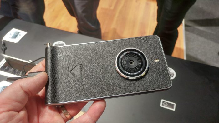 MWC   We finally got a look at the Kodak Ektra