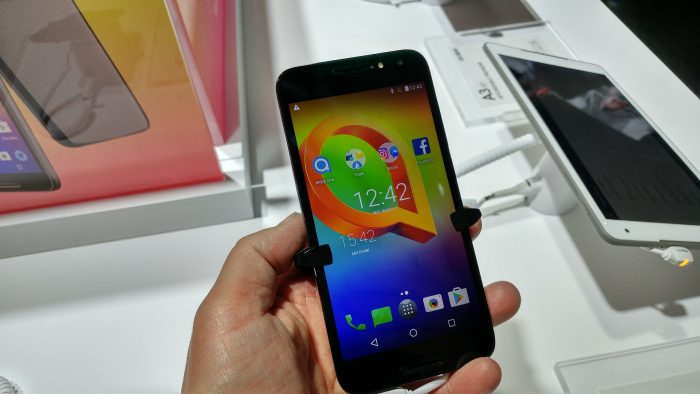 MWC   Hands on with the Alcatel A3