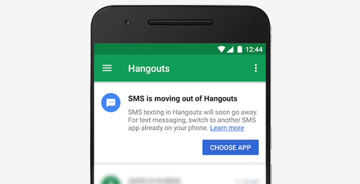 SMS integration to be removed from Google Hangouts