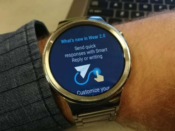 Android Wear 2.0 updates start rolling out