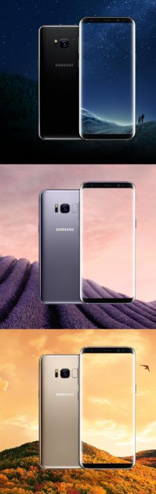 Yes, yet more Samsung Galaxy S8 leakage