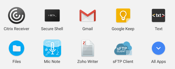 Come on Google. I just need those Android apps and then my Chromebook is perfect