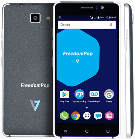 FreedomPop launch a phone! The  FreedomPop V7.. and, its sold out.