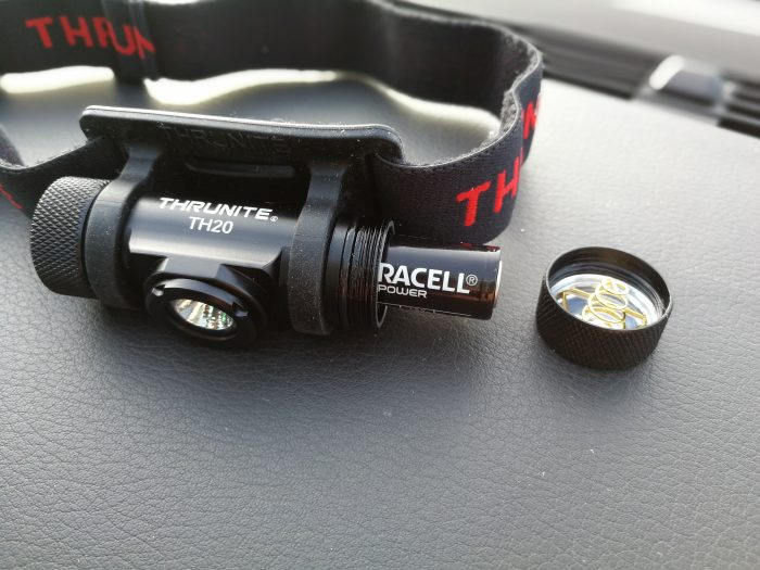 ThruNite TH20 High output LED headlamp – Review