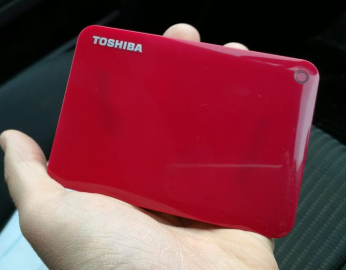 Toshiba Canvio Connect II Portable External Hard Drive   Review